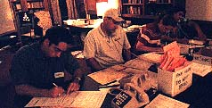 Phone Room Volunteers